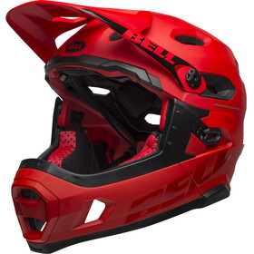 Bell Super DH MIPS Casque, matte/gloss crimson/black